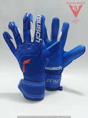 Harga sarung tangan kiper reusch attrakt freegel silver jr ori | HARGALOKA.COM