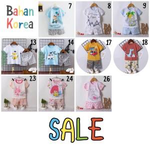 Harga baju rumah setelan import anak perempuan bahan kaos adem korea   girl sz | HARGALOKA.COM