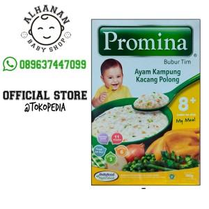 Harga promina bubur tim ayam kampung kacang polong 100 | HARGALOKA.COM