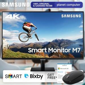 Harga smart monitor led samsung 32m70a 32 34 va 4k uhd hdr10 hdmi usb c | HARGALOKA.COM