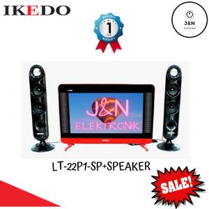 Harga tv ikedo 22 inch lt 22p1 sp speaker  new harga   HARGALOKA.COM