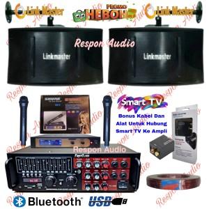 Harga paket speaker karaoke linkmaster sound system set | HARGALOKA.COM