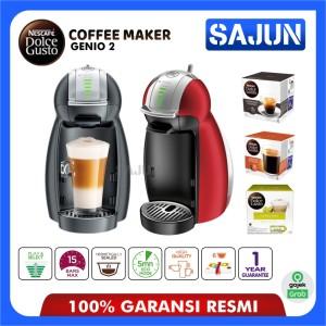Harga promo nescafe dolce gusto mesin kopi genio2 coffee maker   merah mesin   HARGALOKA.COM