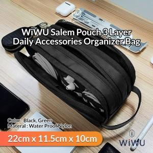 Harga wiwu salem pouch 3 layer daily accessories gadget organizer bag   | HARGALOKA.COM