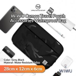 Harga wiwu camou travel pouch gadget electronics accessories waterproof bag   | HARGALOKA.COM
