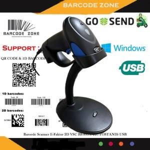 Harga barcode scanner 2d vsc bs 895a qr code efaktur auto stand auto   HARGALOKA.COM