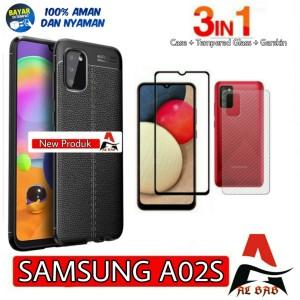 Harga softcase samsung a02s auto focus free tempered glas warna dan   HARGALOKA.COM