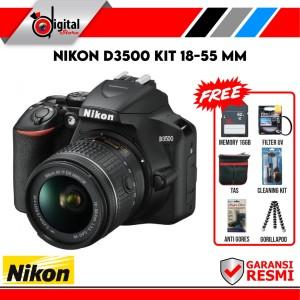 Harga nikon d3500 kit 18 55 mm paket bonus | HARGALOKA.COM