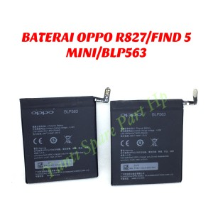 Harga baterai oppo find 5 mini r827 blp563 original | HARGALOKA.COM