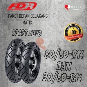 Harga ban luar fdr paket matic 80 80 14 dan 90 80 14 sport zevo | HARGALOKA.COM