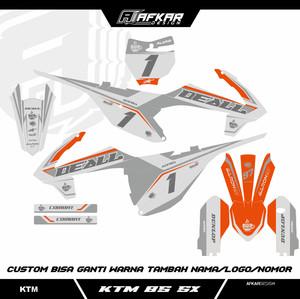 Harga decal ktm 85 sx design custom bisa request | HARGALOKA.COM
