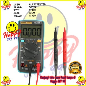 Katalog Avometer Digital Zotek Zt102 Multitester Digital Zt102 Original Katalog.or.id