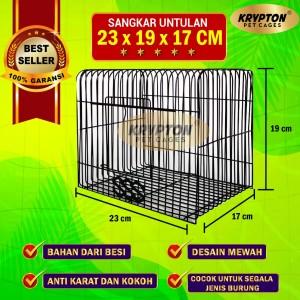 Harga sangkar untulan besi   burung lovebird hamster hewan   HARGALOKA.COM