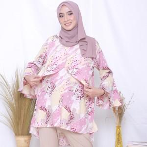 Harga baju hamil menyusui blouse busui bumil   bianca blouse   berry s | HARGALOKA.COM