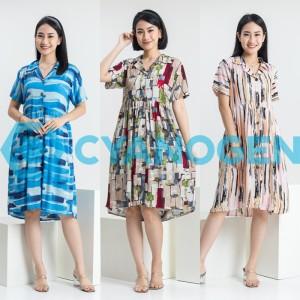 Harga home dress baju tidur piyama wanita dewasa cewek daster terusan pendek   contoh | HARGALOKA.COM