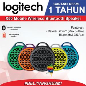 Harga logitech x50 original speaker bluetooth   garansi resmi ims 1 tahun   | HARGALOKA.COM