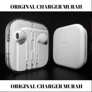 Harga earphone iphone original 4 5s 6 6s 6 plus original apple   HARGALOKA.COM
