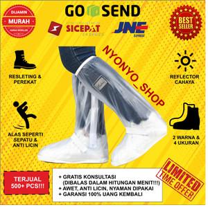 Info Cover Hujan Sepatu Dengan Reflektor Cahaya Size L Katalog.or.id