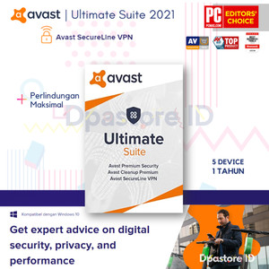 Harga avast ultimate premium security suite   5 pc 1 | HARGALOKA.COM