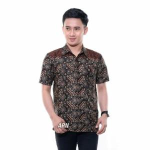 Harga kemeja baju hem batik pria anak motif bagus murah grosir berkualitas   hem dewasa | HARGALOKA.COM
