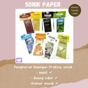 Harga parfum mobil pengharum ruangan paper sonik bukan bayfresh   kopi   HARGALOKA.COM