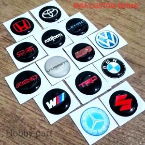 Harga sticker timbul dop velg mobil   warna | HARGALOKA.COM