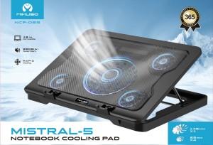 Harga cooler pad mikuso ncp 065 mistral 5 notebook cooling | HARGALOKA.COM