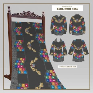 Harga kain batik sdgs desa abu | HARGALOKA.COM