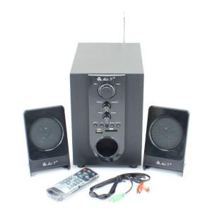 Harga speaker aktif speaker multimedia 2 1 pc laptop komputer mel v sm | HARGALOKA.COM