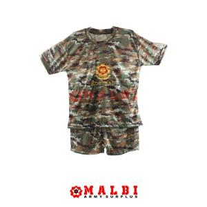 Harga setelan anak loreng army baju celana pendek loreng kostrad   | HARGALOKA.COM