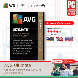 Harga avg ultimate premium internet security 2020   5 pc 2 | HARGALOKA.COM