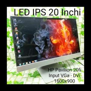 Harga monitor led hp pavilion 20fi super murah 20 inchi ips wide | HARGALOKA.COM