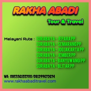 Harga travel surabaya   semarang | HARGALOKA.COM