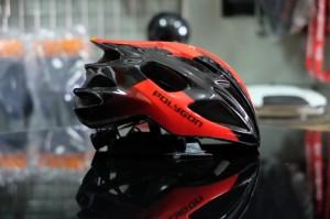Harga helm sepeda lipat road bike aero mtb polygon rustle black | HARGALOKA.COM