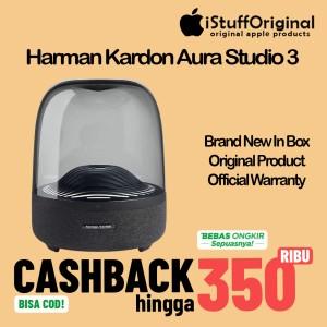Harga original harman kardon aura studio 3 wireless bluetooth speaker     HARGALOKA.COM