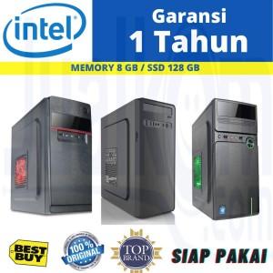 Harga pc rakitan komputer core i7 4790 8gb ssd 128gb cocok untuk | HARGALOKA.COM