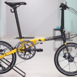Harga sepeda lipat element troy x bike to work 10 speed   yellow   HARGALOKA.COM