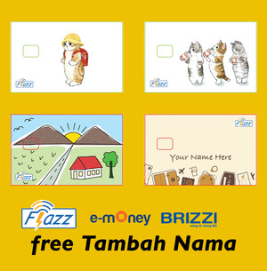 Harga kartu flazz bca gen 2 custom print 2 sisi saldo 0   flazz 1 | HARGALOKA.COM