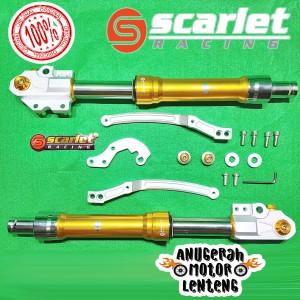 Harga shockbreaker shock usd up side down depan honda adv 150 scarlet | HARGALOKA.COM