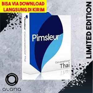 Harga paket pimsleur thai thailand   audio mp3 teknik belajar | HARGALOKA.COM