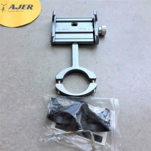 Harga holder hp smartphone bracket mount stang sepeda motor alloy metal     HARGALOKA.COM