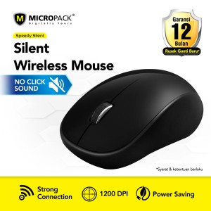 Harga micropack silent wireless mouse black mp 771wst | HARGALOKA.COM