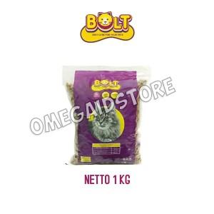 Harga makanan kucing bolt base care for your pet tuna flavour 1 kg | HARGALOKA.COM
