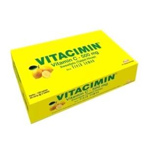 Harga vitacimin vitamin c 500mg rasa orange 1box isi 100 tablet   | HARGALOKA.COM