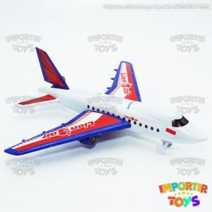 Harga mainan pesawat anak murah roda bisa berjalan lion air | HARGALOKA.COM