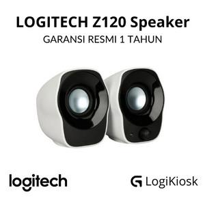 Harga logitech z120 mini stereo speaker laptop pc komputer   garansi | HARGALOKA.COM