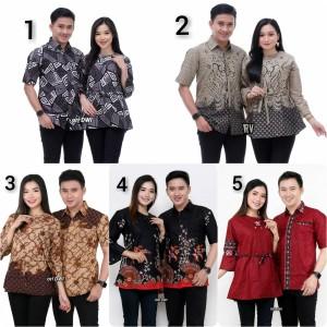 Harga batik couple keluarga batik couple blus batik couple terbaru   m baju | HARGALOKA.COM