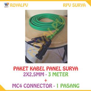 Harga kabel panel surya mc4 connector 2x2 5mm | HARGALOKA.COM