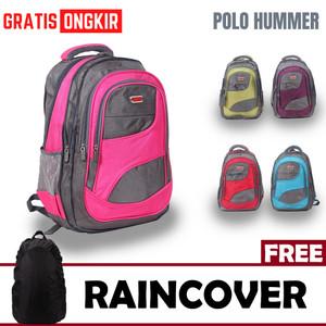 Harga tas ransel backpack laptop pria wanita bisa expanding   polo hummer   | HARGALOKA.COM