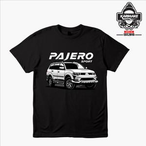 Harga kaos baju mobil mitsubishi pajero sport fc kaos otomotif   karimake   | HARGALOKA.COM